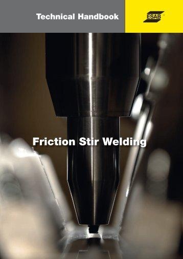 Friction Stir Welding - Esab