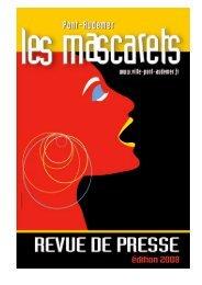 Revue de presse Festival des Mascarets 2008 - Ville de Pont ...
