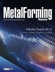 Media Guide 2013 - Metalforming Magazine