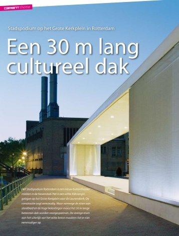 Volledig artikel in vakblad Cement - Abt