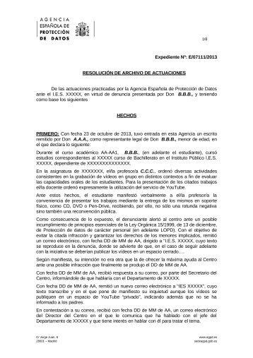 E-07111-2013_Resolucion-de-fecha-06-05-2014_Art-ii-culo-6.2-LOPD