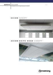 Brochure Axiom Canopy - Armstrong