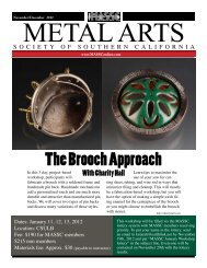 November/December 2012 - The Metal Arts Society of Southern ...