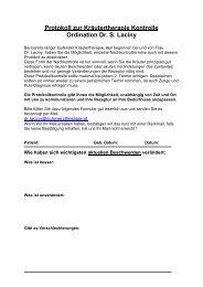 Kräuterkontroll Protokoll.pdf - Dr. med. Sonja Laciny