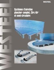 Systèmes d'aération plancher complet, Circ‑AirMC et semi ... - Westeel
