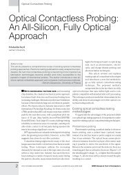 Optical Contactless Probing: An All-Silicon, Fully Optical Approach