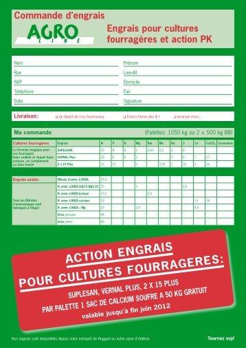 action engrais pour cultures fourrageres - AGROline AG