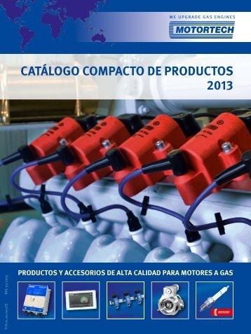 CATÁLOGO COMPACTO DE PRODUCTOS 2013 - Motortech GmbH