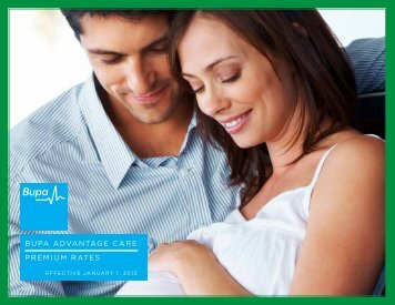 bupa advantage care premium rates - ASA International Insurance
