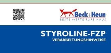 Styroline FZP Verarbeitungshinweise.indd - Beck+Heun