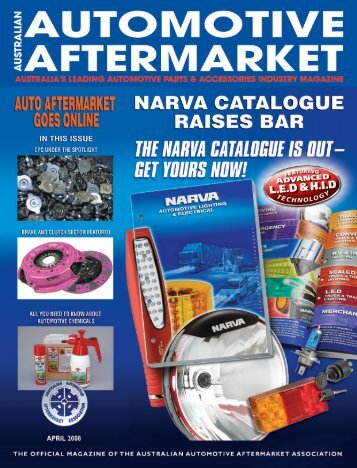 AM MAGAZINE SHELL - Australian Automotive Aftermarket Magazine