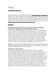 visas l - Consulado General de los Estados Unidos Hermosillo, Mexico
