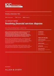 delegate information sheet - Chartered Institute of Arbitrators