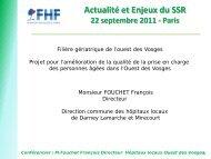 francois foucher - Département d'information médicale