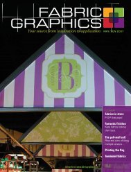 Fabric Graphics, May/June 2007, Digital Edition - Specialty Fabrics ...
