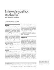 La teología moral hoy - Universidad de San Buenaventura Cali
