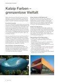Kalzip® Oberflächen und Farben - Seite 6