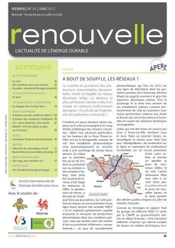 Renouvelle - APERe