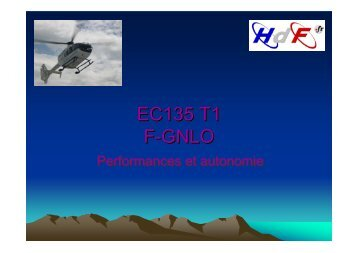 EC135 T1 F-GNLO EC135 T1 F-GNLO - COLMU