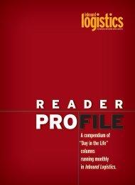 reader profile - Inbound Logistics