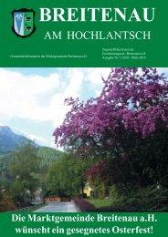 Gemeindeinformation März 2010 - Breitenau am Hochlantsch