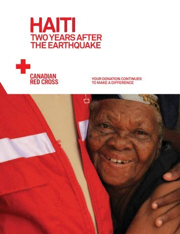 Haiti - Two years after the earthquake - Canadian Red Cross