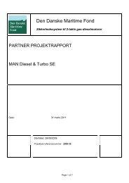 Rapport - Den Danske Maritime Fond