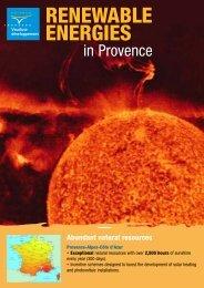 Renewable Energies - Vaucluse Développement