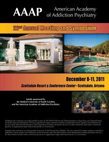 22nd Annual Meeting and Symposium - American Academy of ...