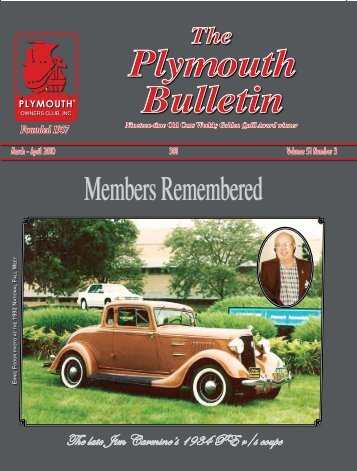 PB 301 new page 7-13.indd - Plymouth Club