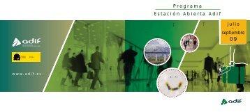 Programa Estación Abierta Adif