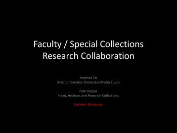 Research Collaboration