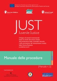 Progetto Just - Save the Children Italia Onlus