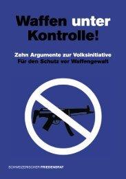 argukatalog.waffen - Schweizerischer Friedensrat