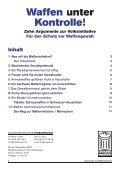 argukatalog.waffen - Schweizerischer Friedensrat - Seite 2