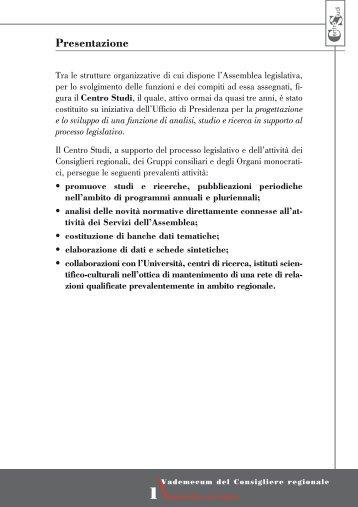 [PDF] Presentazione - Assemblea Legislativa