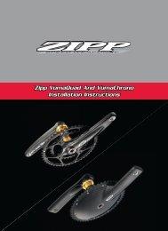 Zipp VumaQuad And VumaChrono Installation Instructions