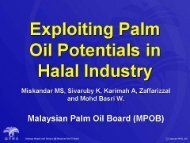 Exploiting Palm Oil Potential for Halal Industry