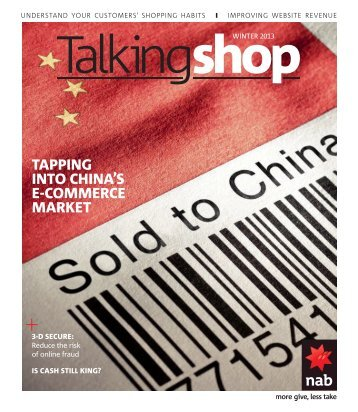 NAB Talking Shop - Winter 2013 - Business Research and Insights