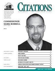 COMMISIONER MARK BORRELL - Ventura County Bar Association