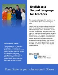 English as a Second Language for Teachers Certificate