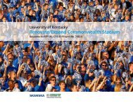 Renovate/Expand Commonwealth Stadium - Kentucky.com