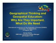 Geographical Thinking and Geospatial Education - HERODOT ...