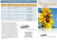 Freizeit Flyer - Initiative zur sozialen Rehabilitation eV
