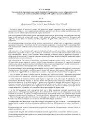 Articolo 42 Misure di integrazione sociale - Immigrazione.biz