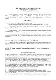 Delibera del Consiglio Direttivo - ACI - Automobile Club Ascoli ...