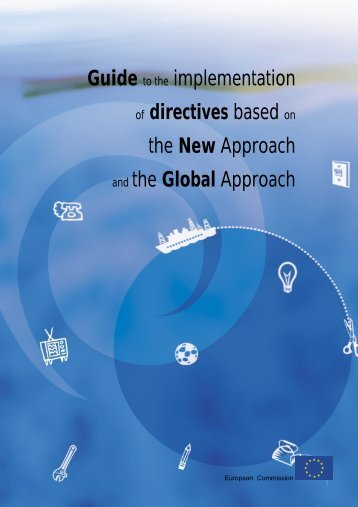 Guide to the implementation of directives based on the New ...