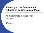 Fukushima Daiichi Nuclear Station - FLC Mid-Atlantic Region