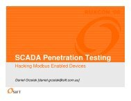 Hacking Modbus Enabled Devices.pdf - 2008 - Ruxcon