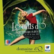 Nuits d'O 2008 - Opus 31